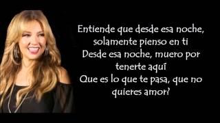 Thalia-Desde esa noche ft. Maluma (letra)