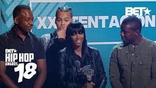 XXXTentacion's Mom Accepts His Best New Hip-Hop Artist Award   Hip Hop Awards 2018
