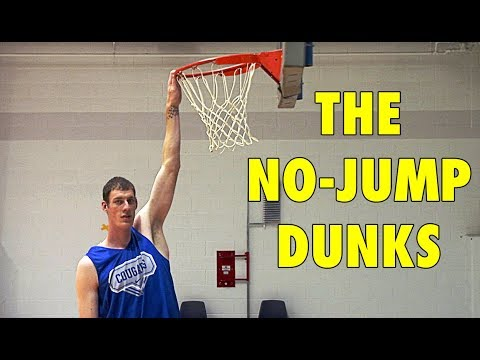 Xxx Mp4 5 Basketball Players Who Did The NO JUMP DUNKS 3gp Sex