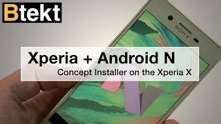 Sony Xperia X Android 7 Nougat update