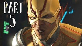 INJUSTICE 2 Walkthrough Gameplay Part 5 - Reverse Flash (Story Mode)
