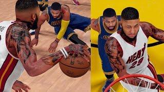 NBA 2K16 MyCAREER S2 Playoffs - GREATEST ANKLE BREAKER EVER! Shawn BREAKS Kyrie Ankles!