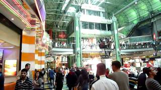 Food court at the Canal Walk mall in Cape Town