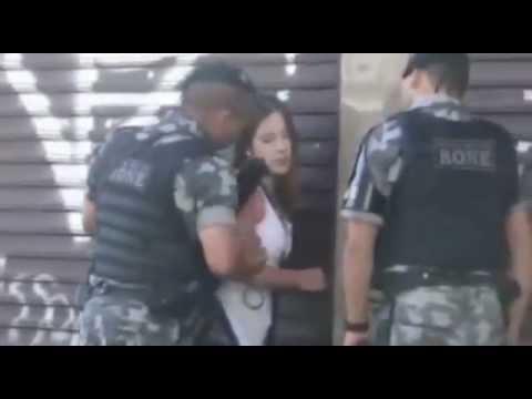 FODA-SE A POLÍCIA - Trope de Elite?! de Curitiba Agride Jovem Desarmada e Indefesa