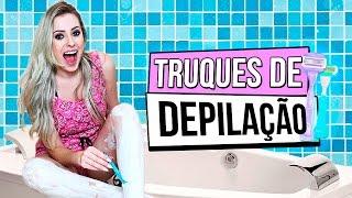 TRUQUES PARA DEPILAR CERTINHO | Amanda Domenico