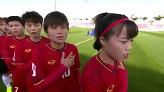 Video: Highlight Việt Nam 0-4 Nhật Bản VCK Nữ Châu Á 2018