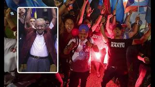 Breaking News: Malaysia election results 2018 'We don't want revenge' Mahathir Mohamad VICTORIOUS