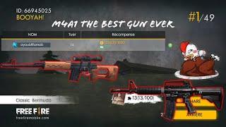 m4a1 the best gun on free fire battelgrounds! i found the new gun gameplay