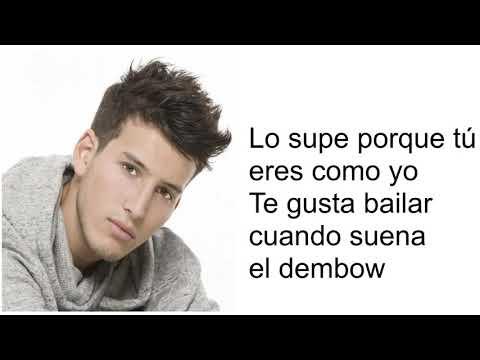 Suena el Dembow Joey Montana y Sebastián Yatra Lyrics ORIGINAL⏯🎧