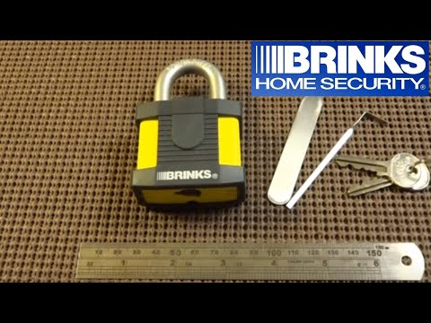 73 Brinks 50mm Maximum Security Padlock SPP d
