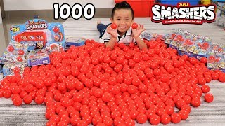 1000 ZURU SMASHERS Surprise Eggs Full Super Rare Set Kids Smashing Fun With Ckn Toys