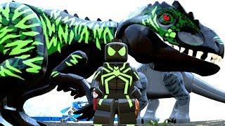 HOMEM-ARANHA FURTIVO BIG TIME E SEU DINOSSAURO no LEGO Jurassic World Criando Dinossauros #71