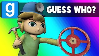 Gmod Guess Who Funny Moments - Oil Rig Imposters (Garry