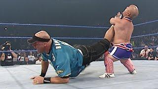 Mini Kurt Angle turns the tables on Kurt Angle: SmackDown, Oct. 16, 2003