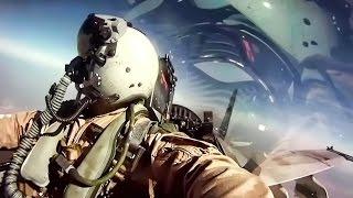 USMC F/A-18 Fighter Jets + Inflight Pilot Cockpit Camera