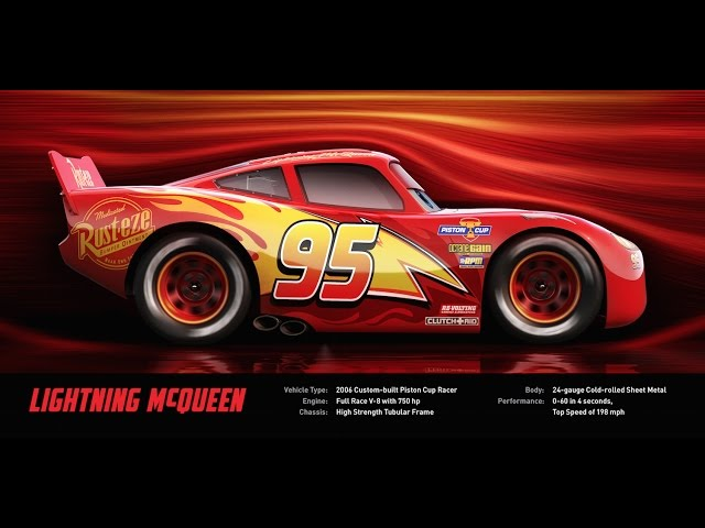Lightning McQueen - Disney/Pixar's Cars 3