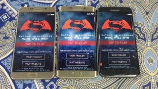 Samsung Galay S7 Edge Vs S6 Edge Plus Vs Note 5 Opening Apps Speed Comparison