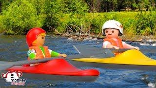 Johnny and Jasmine go Kayaking!!