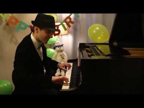 Happy Birthday Jazzy Piano Arrangement by Jonny May