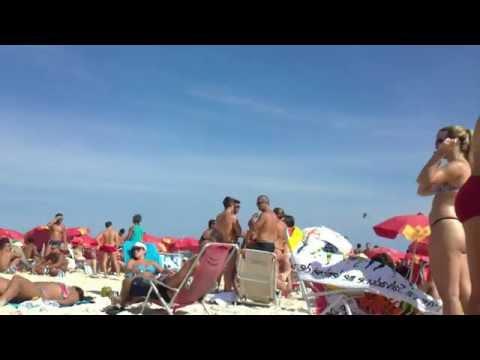 LOIRA LINDA NA PRAIA BRAZILIAN GIRL IN THE BEACH