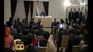 """#ممكن   شاهد..السيسي للإعلامين المصريين """" لو الناس هتزعل مني هقولهم سلام عليكم """""""
