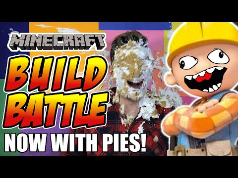 150 Subscriber Video! - PIE SMASH by Build Battle Winner!