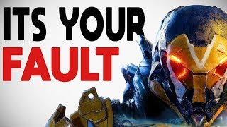 EA Blames YOU For Anthem's Failure