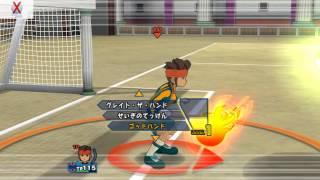 Inazuma Eleven GO Strikers 2013 INAZUMA LEGEND VS CHRONO STORM ( Part 1 )