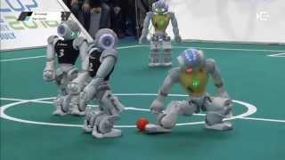 SPL@modell-hobby-spiel - B-Human vs. Nao Devils - Game 4