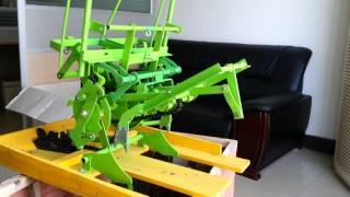 Manual rice transplanter My video