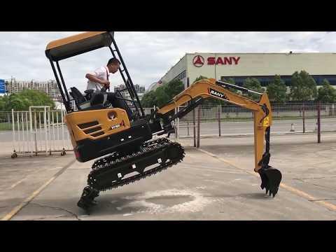 Xxx Mp4 SANY SY16 Excavator 3gp Sex