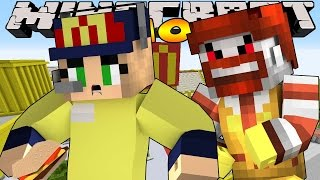 Minecraft School- Little Kelly : EVIL RONALD MCDONALD!