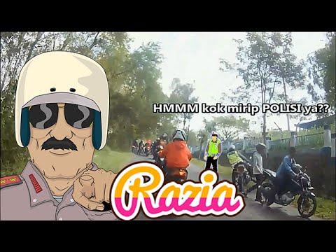 #7 Waduk ada Razia!! Sunmori Helmet Lovers Tulungagung