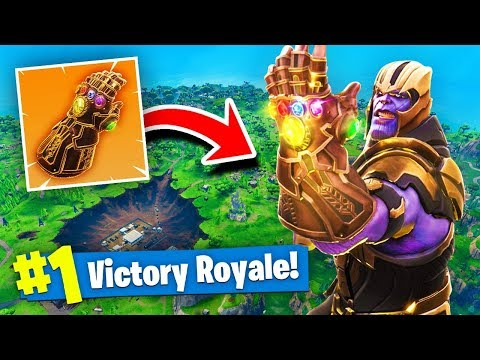 Xxx Mp4 NEW THANOS INFINITY GAUNTLET GAMEPLAY In Fortnite Battle Royale 3gp Sex