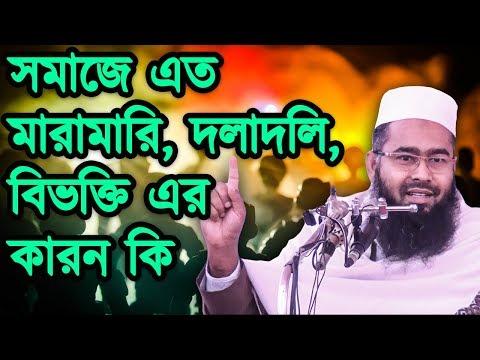 Somaje Eto Bivokti ba Doladoli Keno Jene Nin■Mujaffor Bin Mohsin💡Islamic Bangla Waz Mahfil🔥Part #7