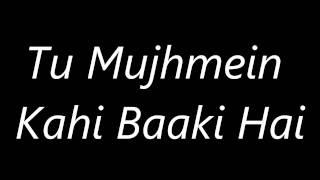 Atif Aslam's Aadat ( Juda Ho Ke Bhi )'s Lyrics