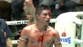 Muay Thai Fight - Yodthongthai vs Saen- New Lumpini Stadium, Bangkok, 30th September 2014