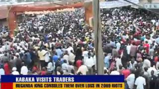 Kabaka Mutebi's City tour excites Traders