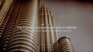 The Fourth Industrial Revolution in ASEAN