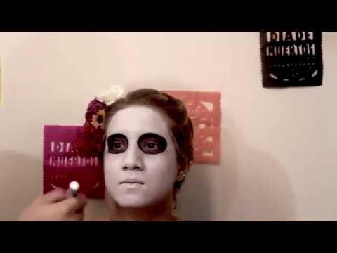 Xxx Mp4 Tutorial Maquillaje Catrina ♡ 3gp Sex