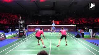 Ko Sung-hyun / Kim Ha-na vs Tontowi Ahmad / Liliyana Natsir - XD Final [Denmark Open 2015]