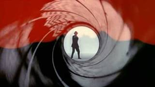 Goldfinger gunbarrel DVD edition