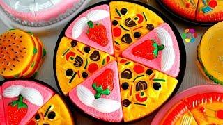 لعبة طبخ البيتزا وتورتة الايس كريم اجمل العاب المطبخ للاطفال العاب تأكيل العرائس  بنات واولاد