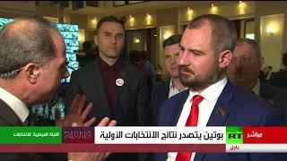 لقاء خاص مع مرشح الانتخابات الرئاسية الروسية مكسيم سورايكين
