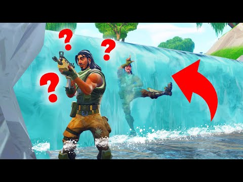 Playing HIDE AND SEEK In FORTNITE Battle Royale
