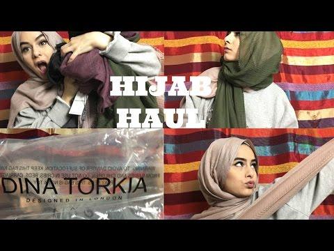 Hijab Haul // Dina Torkia, Crinkle, pleated... || Maryam Rana