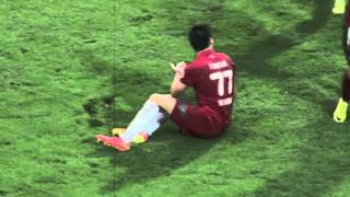 If men had periods - soccer