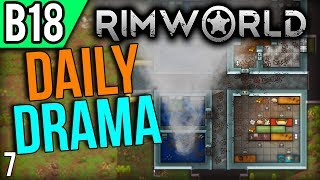 RimWorld Beta 18   Urgent Walls (Lets Play RimWorld / Gameplay part 7)