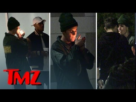 Justin Bieber Smokin' Like a Chimney at Kendall's Party | TMZ