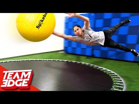GIANT Spikeball Challenge 🌕